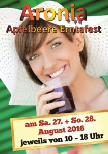 Aronia Erntefest 2016