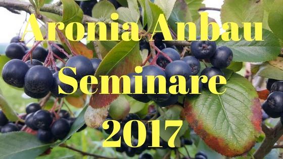 Aronia Anbau Seminar