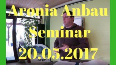 Aronia Anbau Seminar 2017