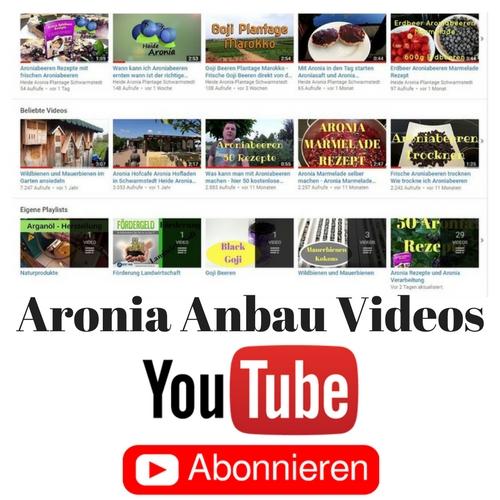 Aronia Anbau Videos