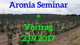 Aronia Seminar Aronia Vortrag