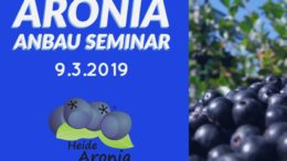 Aronia Anbau Seminar 2019