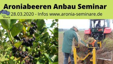 Aronia Anbau Seminar 2020